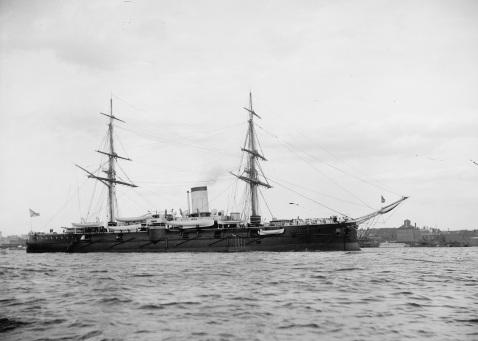 Admiral Nakhimov, NYC, 1893