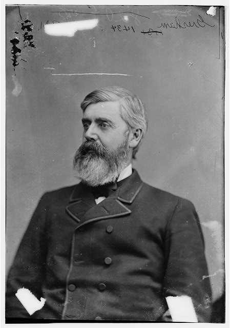 Maj. Gen of Volunteers, the great and Honorable W.Q. Gresham (1832-1895)