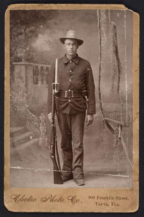 krag rifle 1898 tampa