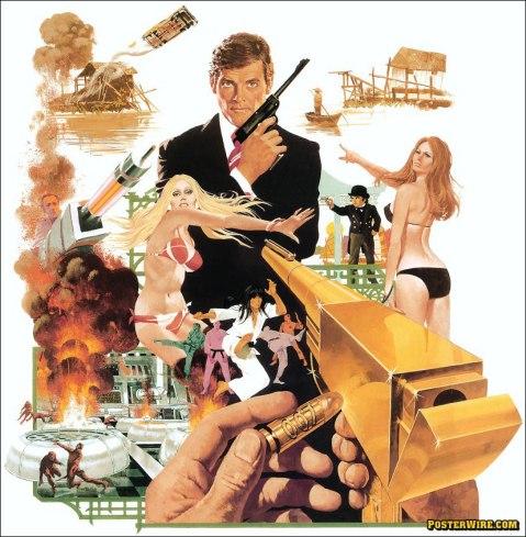 The Man with the Golden Gun artwork By Robert McGinnis