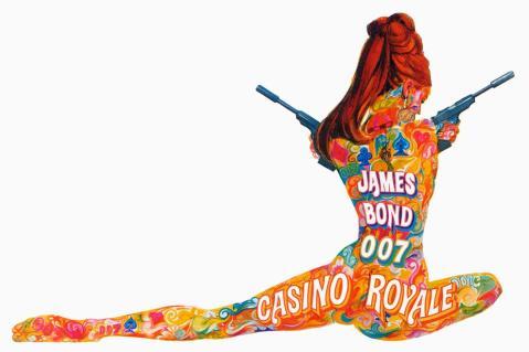 Casino Royale artwork By Robert McGinnis