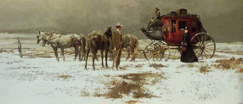 Red River Valley By Robert McGinnis