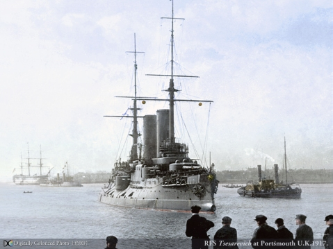 Tsarvitch at Portsmouth 1903