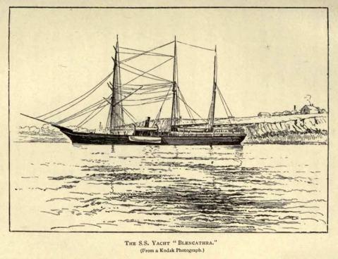 Yacht Blencathra (formerly HMS Newport)