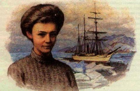 Yerminia Zhdanko, Saint Anna in background