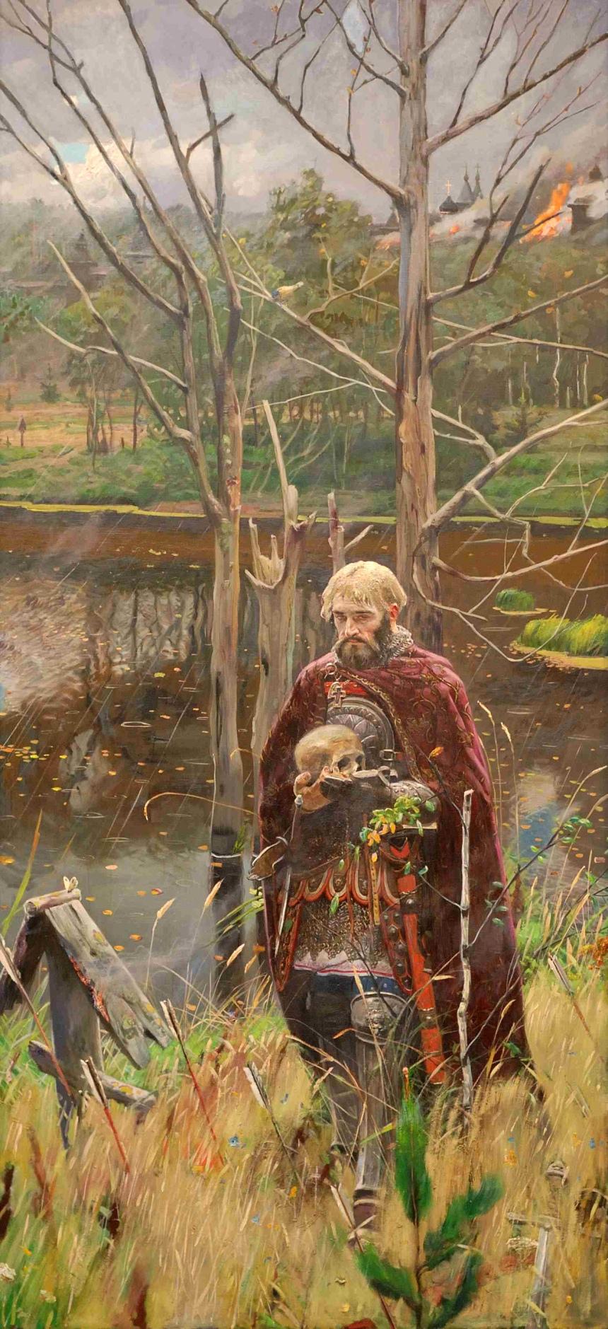 """Alexander Nevsky"" 2008, by Pavel Ryzhenko."