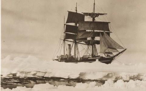 Arctic expedition George Brusilov on the schooner Saint Anna