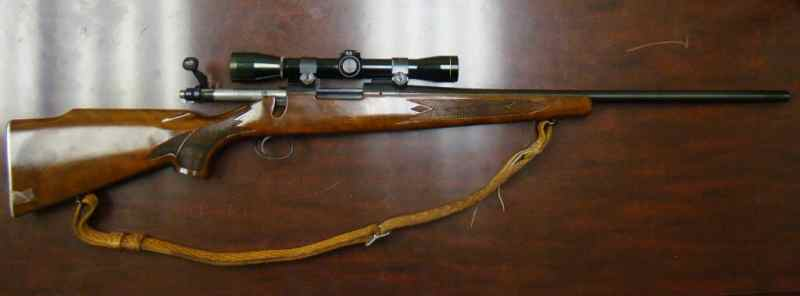 charles whitman Remington 700 ADL, 6 MM CAL with Leupold scope