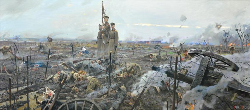 """""""Stokhid. The Last Battle of the Life Guards Preobrazhensky Regiment 1916."""" By Ryzhenko, Pavel Viktorovich."""