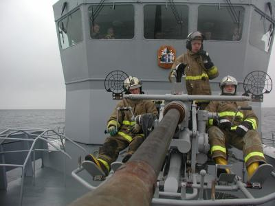 You have to admit, that looks like fun, and the GMGs can double as firefighters on their day off