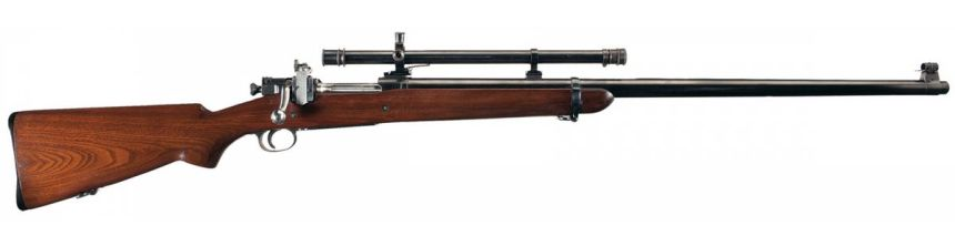 """Early Springfield Model 1903 Style """"T"""" Target Rifle with Winchester A5 Scope"""