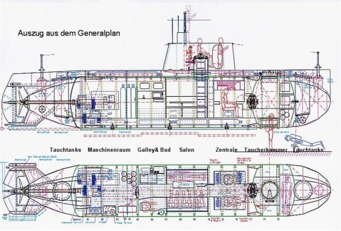 Check out the plans for this. Somewhere in North Korea a naval engineer is salivating...