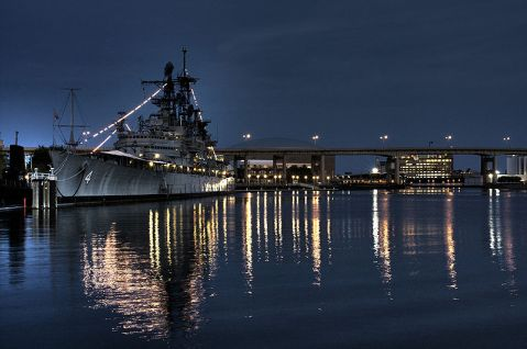USS Little Rock, the only ship of her kind that was given the same conversion as the OKC. She is a museum ship in Buffalo New York. Photo by Wiki
