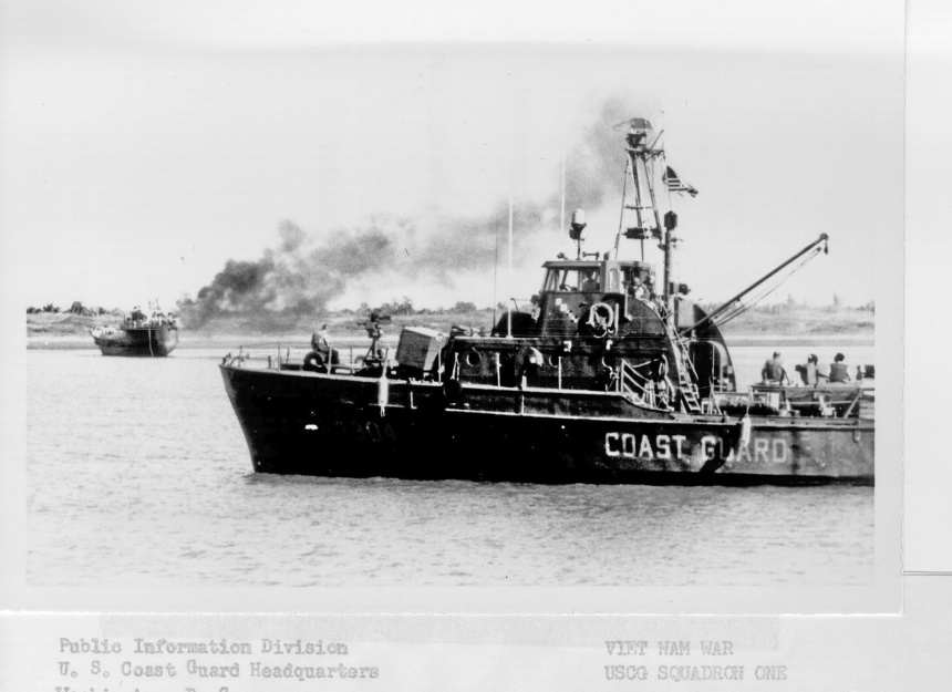 Things stayed pretty hot for the Coasties in Vietnam