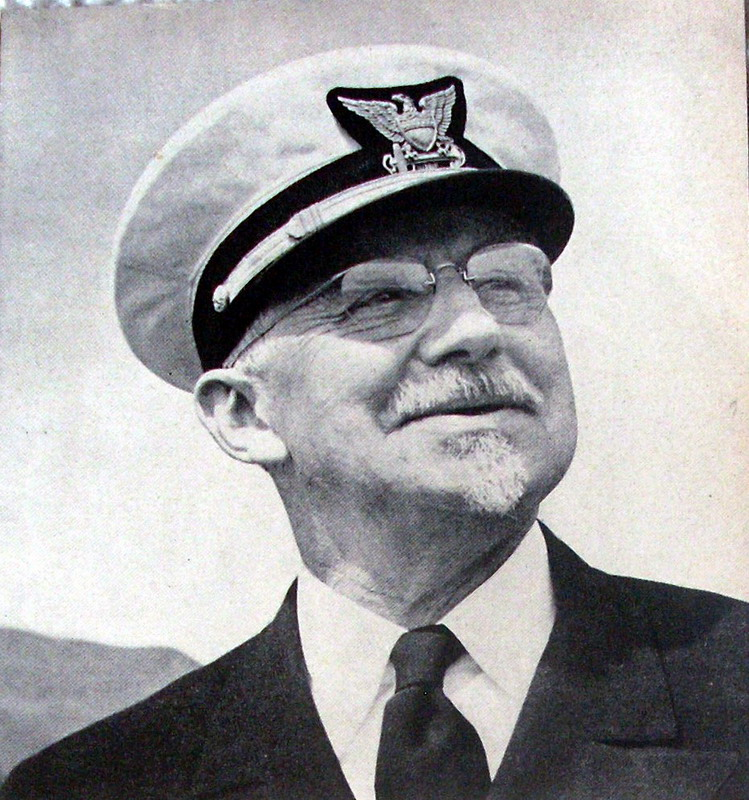 Fischer, a LCDR in his 60s, and at war.