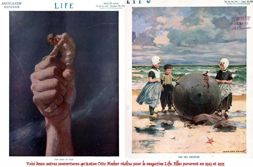 Anton-Otto-Fischer-Other-Life-Magazine-Covers-Montage