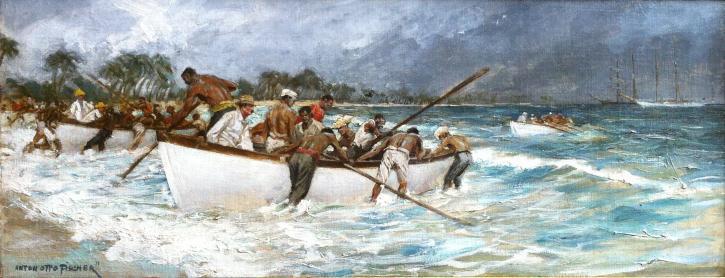 Anton Otto Fischer - The Perils of Pauay-Phillipine Islands-