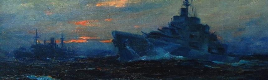 Coast Guard Cutter Campbell by Fischer.