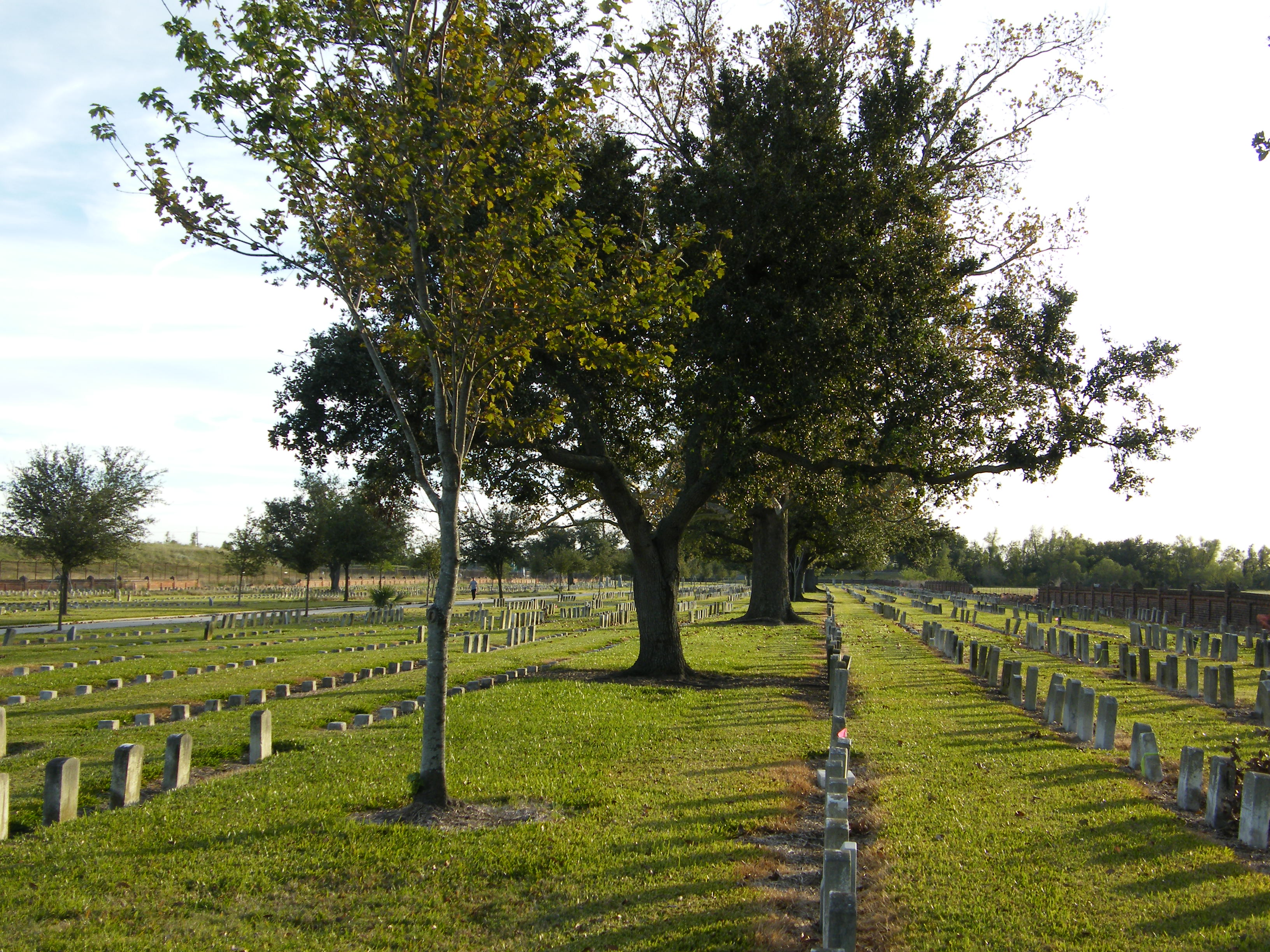 The site is also home to the Chalmette National Cemetery.