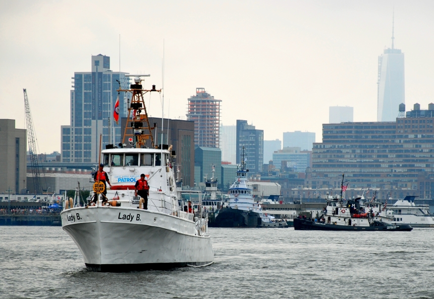 Lady B still on patrol with the USCGA in NYC