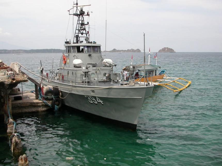 PG 394 BRP Alberto Navarette of the Philippines Navy, ex USCGC Point Evans WPB 82354