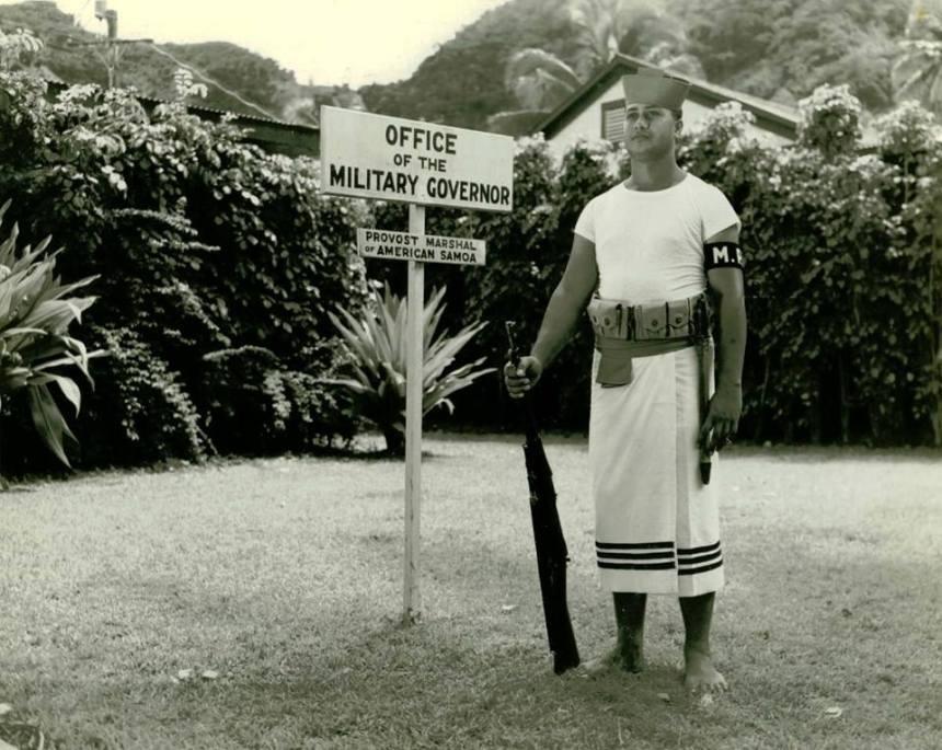 samoan sailor with 1903