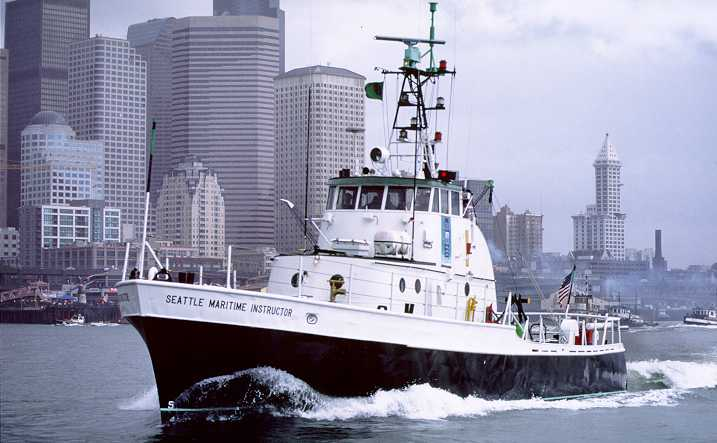 Seattle Maritime Academy's Point