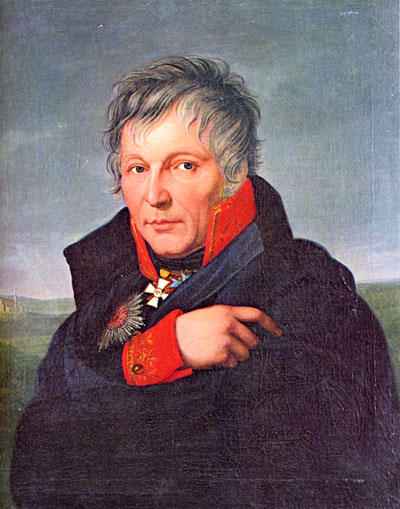 Gerhard von Scharnhorst, 1755–1813, Chief of the Prussian General Staff and later one of Napoleon's greatest thorns.
