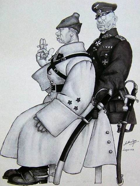 1939, Two comrades were serving