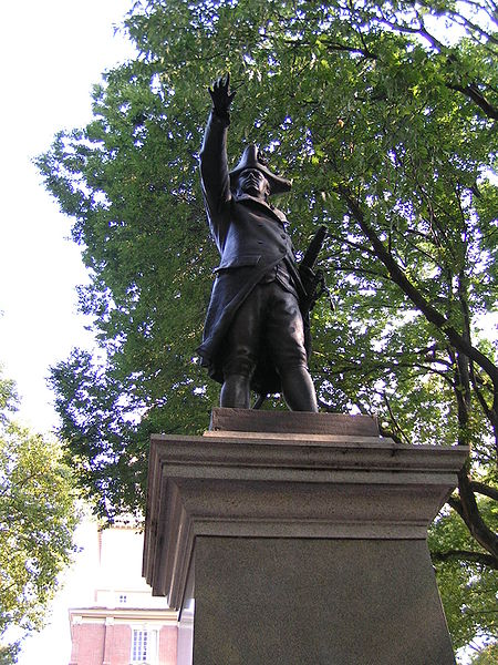 The Commodore still stands tall at Philly's Independence Hall.