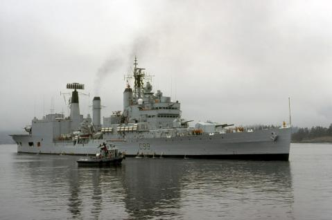 blake after her refit