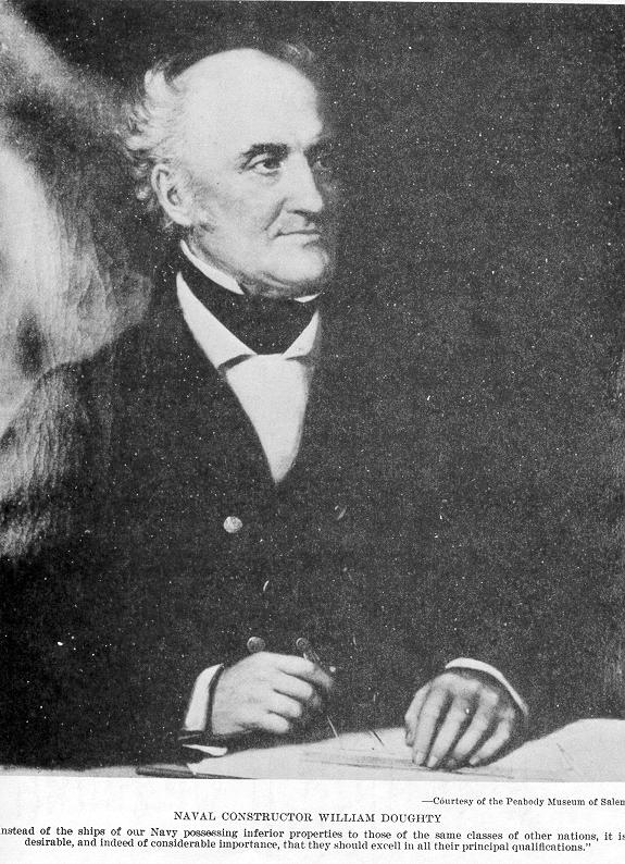 Doughty, the man who literally designed the early U.S. Navy