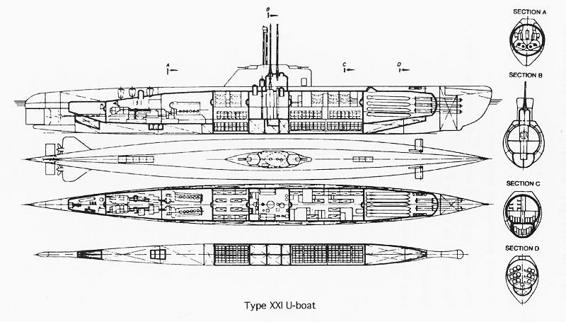 german xxi uboat