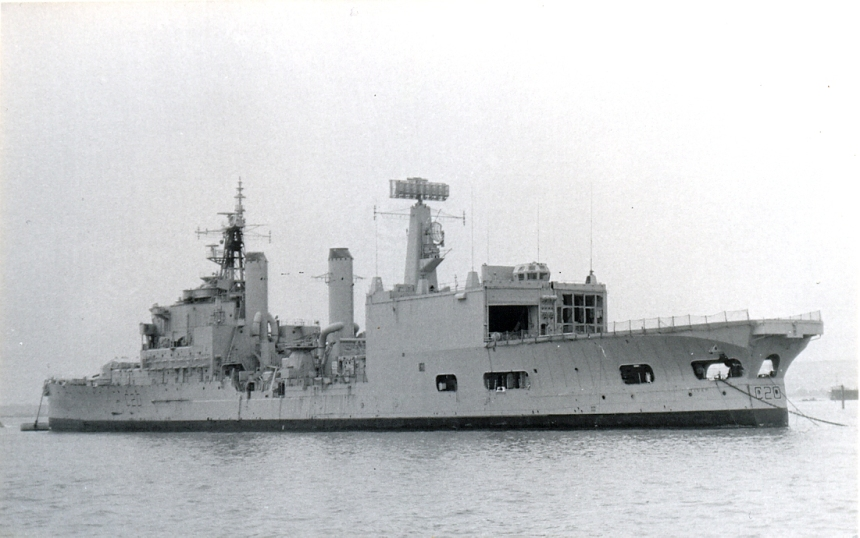Stern view of Tiger, showing the same conversion that Blake endured