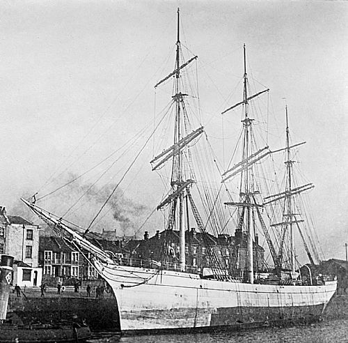 As Inveruglas 1884-- note the figurehead she would lose in 1917