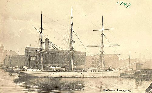 As Sierra Lucena around 1900