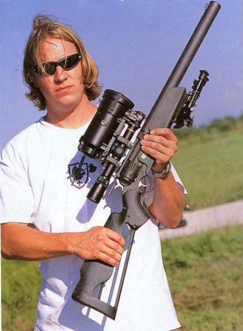 knights revolver rifle ruger redhawk