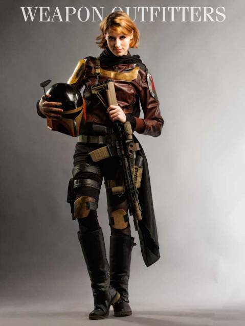 """Via Weapon Outfitters """"Maressa Fox got the distinction of doing the first photo shoot of 2015 with us!  Here with a Geissele SMR Mk8 rail build, and a patrial Mandalorian armor getup fabricated by DIY Super car"""" http://weaponoutfitters.tumblr.com/post/107183995872/maressa-fox-got-the-distinction-of-doing-the-first"""