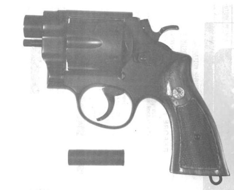 The QSPR snubby .410 and one of its shells