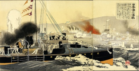 Torpedo boat attack on Port Arthur