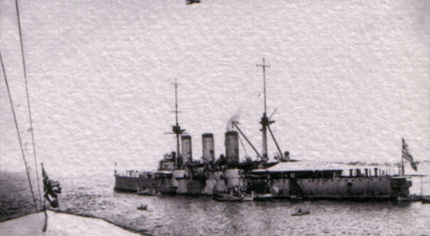Averof 1916 during WWI