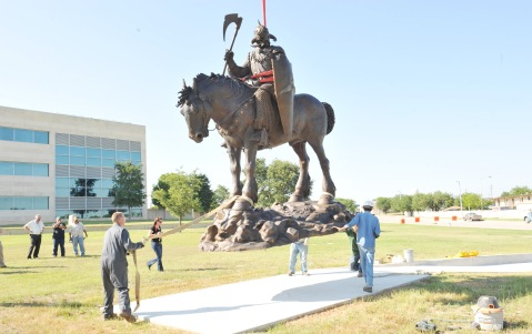 Phantom Warrior being installed at Fort Hood