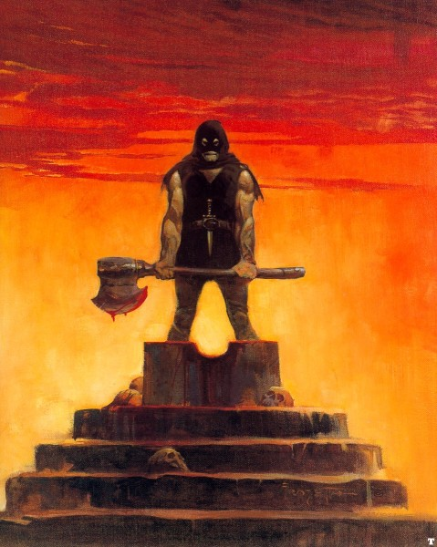 The Executioner by Frank Frazetta