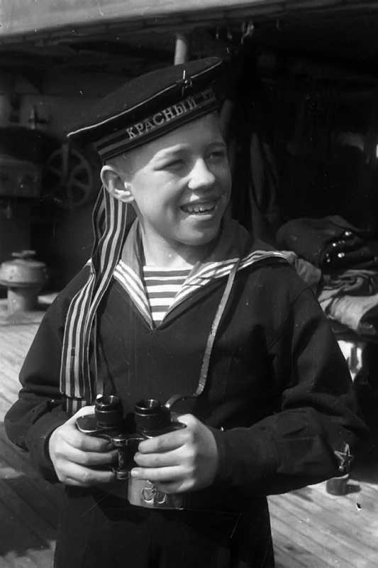 A junior Red Caucasus sailor