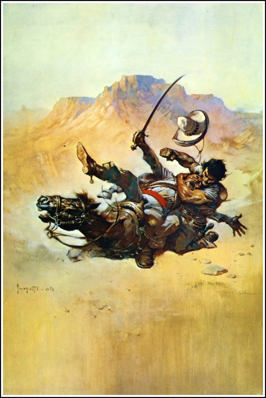 Return of the Mucker, 1973 by Frank Frazetta