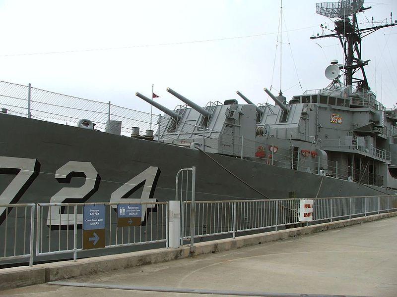 USS Laffey, DD-724 as a museum ship today