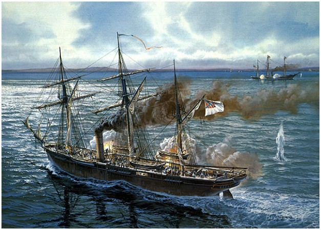 CSS Alabama Sunday Showdown Archival Print.