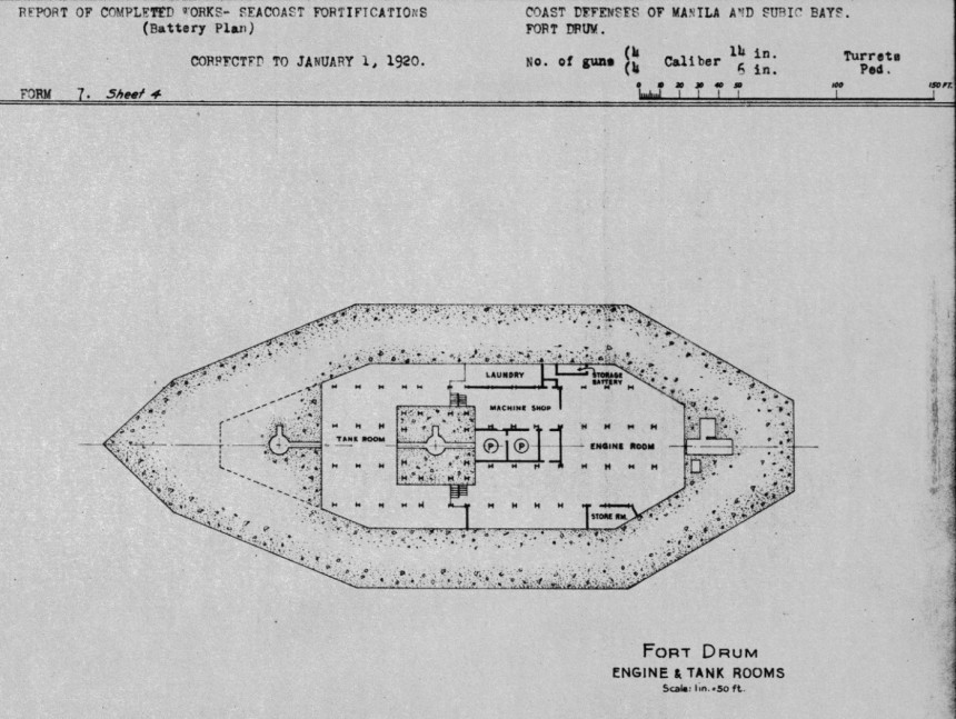 Engine tank section