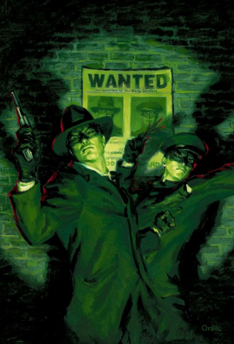 Green Hornet and Kato, by Orbik