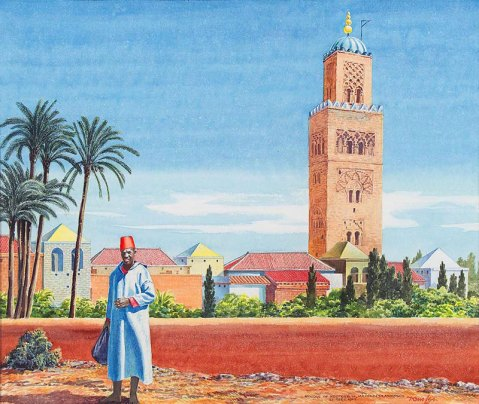 Marrakech Tom Lea 1947